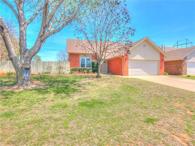 1116 Southridge Drive, Purcell, OK 73080 (MLS #814793) :: Erhardt Group at Keller Williams Mulinix OKC