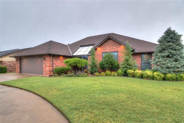 400 S Ramblin Oaks Drive, Moore, OK 73160 (MLS #815083) :: Wyatt Poindexter Group