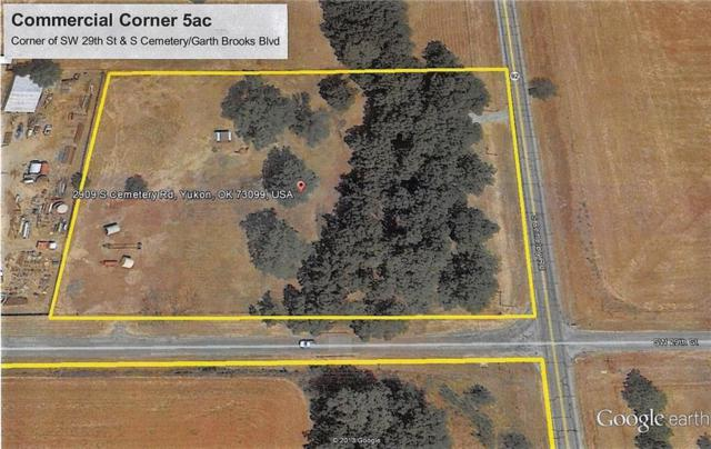2909 S Cemetery Road, Yukon, OK 73099 (MLS #815322) :: Your H.O.M.E. Team