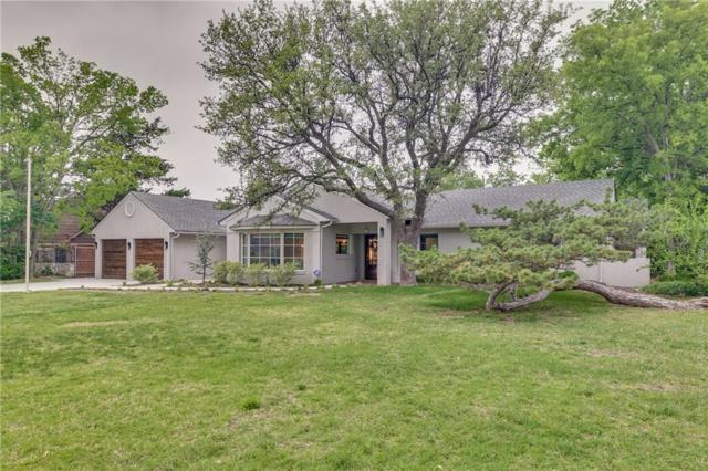 1717 Dorchester Drive, Nichols Hills, OK 73120 (MLS #815343) :: Wyatt Poindexter Group