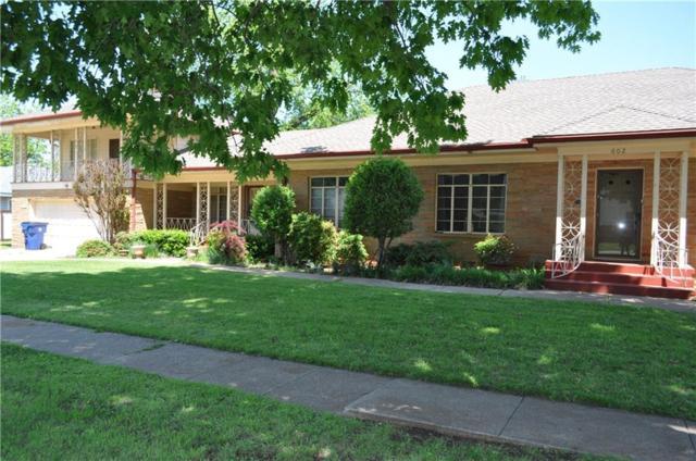 602 W Creek Street, Lindsay, OK 73052 (MLS #815406) :: Wyatt Poindexter Group