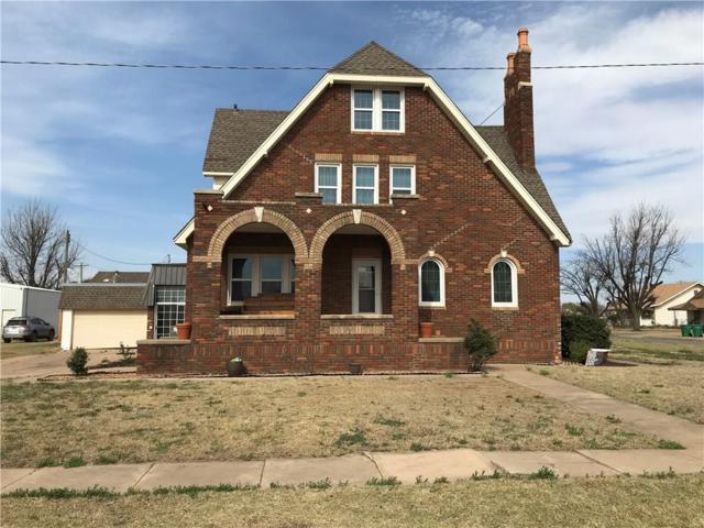 722 E Main, Sentinel, OK 73664 (MLS #815466) :: KING Real Estate Group