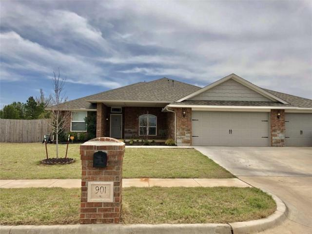 901 Brookhollow Drive, Chickasha, OK 73018 (MLS #815990) :: KING Real Estate Group