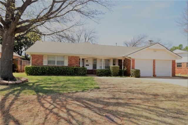 6809 Reed Drive, Oklahoma City, OK 73116 (MLS #816123) :: UB Home Team