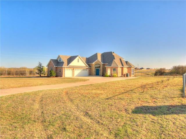 4110 Paradise Drive, Blanchard, OK 73010 (MLS #816173) :: Wyatt Poindexter Group