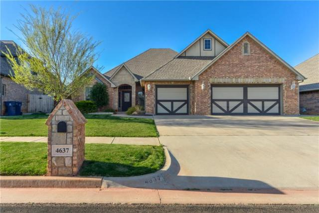 4637 NW 159th Street, Edmond, OK 73013 (MLS #816330) :: Erhardt Group at Keller Williams Mulinix OKC