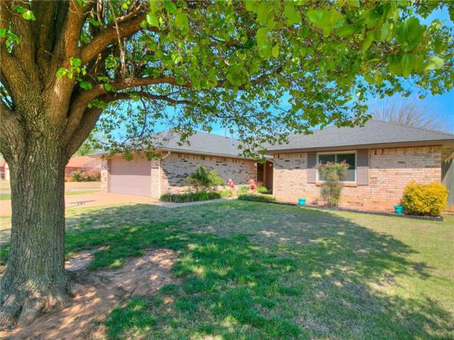 212 N Ramblin Oaks Drive, Moore, OK 73160 (MLS #816336) :: Erhardt Group at Keller Williams Mulinix OKC