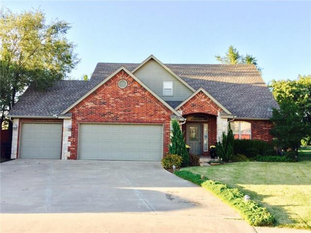 105 Wesley Circle, Moore, OK 73160 (MLS #816553) :: UB Home Team
