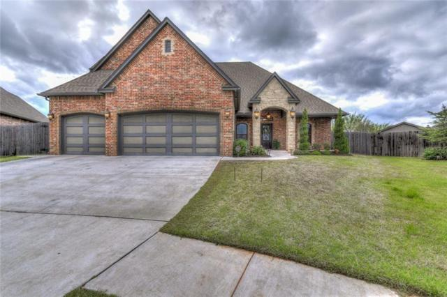 901 Samantha, Moore, OK 73160 (MLS #816820) :: Barry Hurley Real Estate