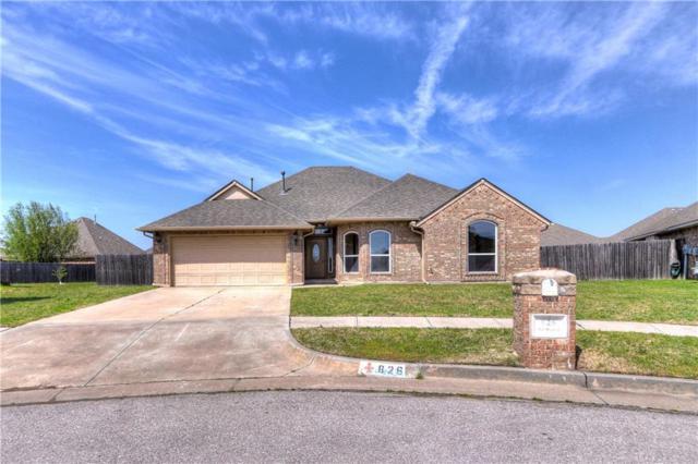 826 SW Rickwood, Moore, OK 73160 (MLS #816876) :: Barry Hurley Real Estate