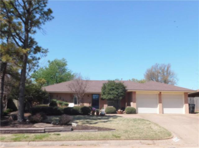 2513 Cowan Place, Moore, OK 73160 (MLS #816951) :: Barry Hurley Real Estate