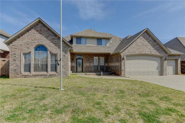 917 Erinova Drive, Yukon, OK 73099 (MLS #817037) :: Erhardt Group at Keller Williams Mulinix OKC
