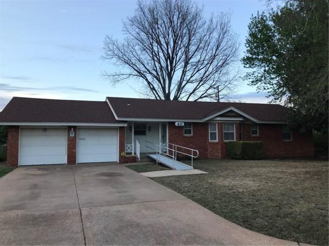 411 SW 54th Street, Oklahoma City, OK 73109 (MLS #817125) :: Barry Hurley Real Estate