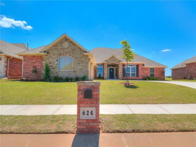 624 Spavinaw, Edmond, OK 73025 (MLS #817264) :: Wyatt Poindexter Group