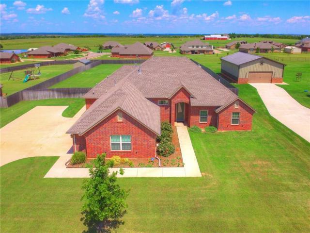 14608 Pepperwell Oaks Drive, Oklahoma City, OK 73165 (MLS #817290) :: Wyatt Poindexter Group