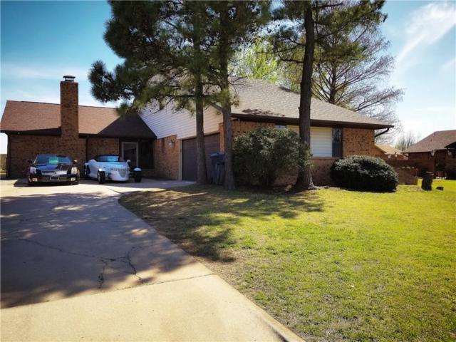 208 Corona Drive, Oklahoma City, OK 73149 (MLS #817453) :: Wyatt Poindexter Group