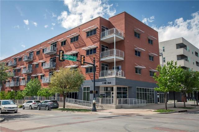 1 NE 2nd #414, Oklahoma City, OK 73104 (MLS #817670) :: Erhardt Group at Keller Williams Mulinix OKC
