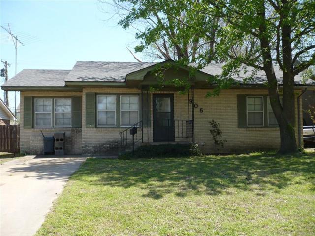905 N Overland Court, Shawnee, OK 74801 (MLS #817746) :: Wyatt Poindexter Group