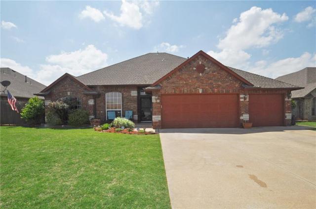 705 N Buckhorn Way, Mustang, OK 73064 (MLS #818273) :: Wyatt Poindexter Group