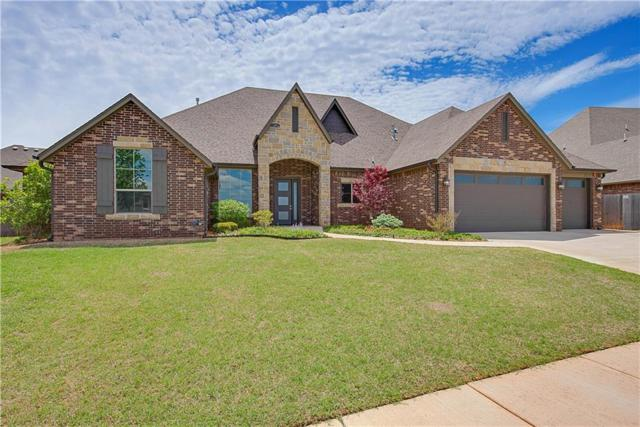 19604 Stratmore Way, Edmond, OK 73012 (MLS #818370) :: Erhardt Group at Keller Williams Mulinix OKC