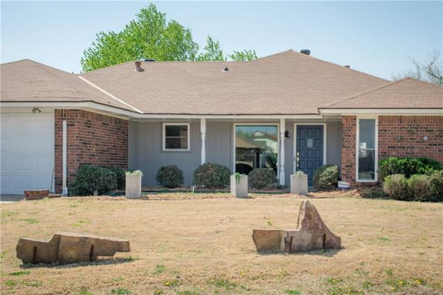 1605 Willow Brook, Moore, OK 73160 (MLS #818452) :: Wyatt Poindexter Group