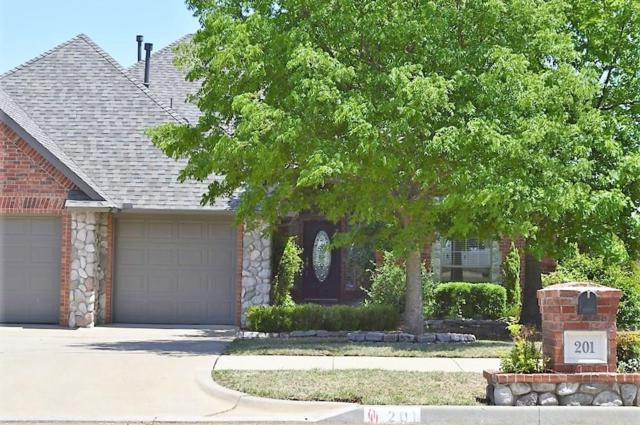 201 Summit Ridge Court, Norman, OK 73071 (MLS #818471) :: Wyatt Poindexter Group
