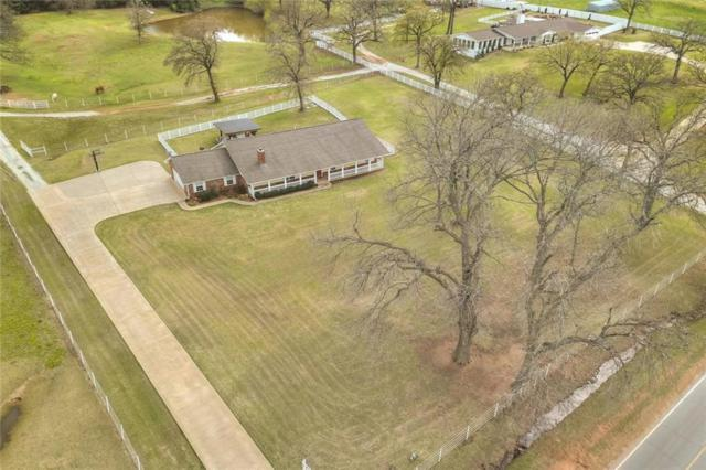 39105 Hardesty Road, Shawnee, OK 74801 (MLS #818501) :: Wyatt Poindexter Group