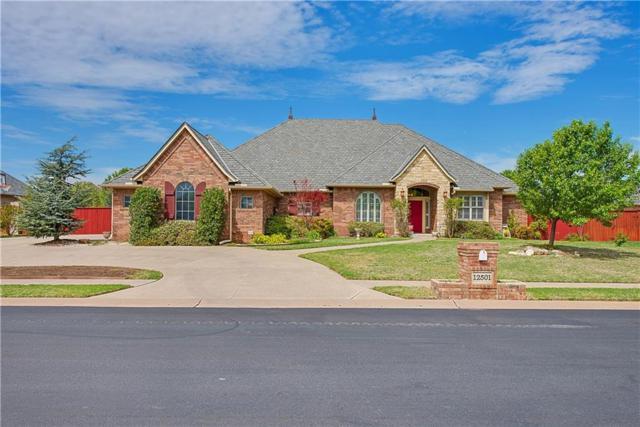 12501 Carriage Way, Oklahoma City, OK 73142 (MLS #818611) :: Wyatt Poindexter Group