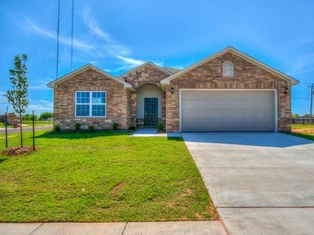 4817 Fieldstone Drive, Mustang, OK 73064 (MLS #818631) :: Wyatt Poindexter Group