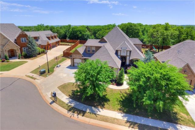 2808 Cattle Drive, Edmond, OK 73034 (MLS #818823) :: KING Real Estate Group