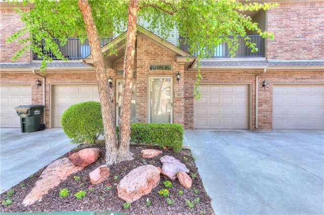 6162 N Brookline Ave. #16, Oklahoma City, OK 73112 (MLS #819049) :: Erhardt Group at Keller Williams Mulinix OKC