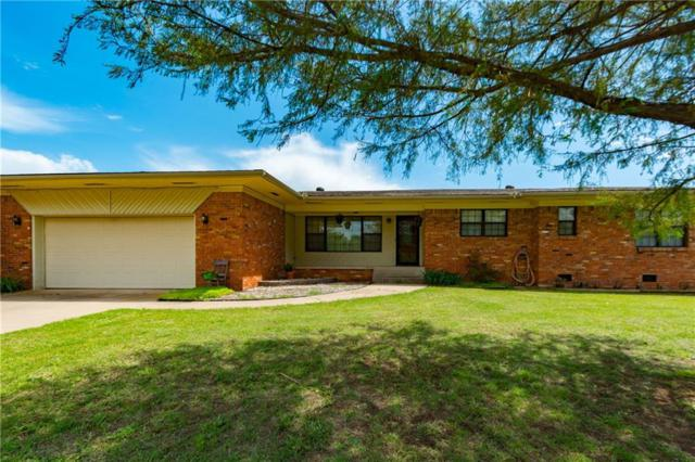 36950 E County Road 1550, Pauls Valley, OK 73075 (MLS #819138) :: KING Real Estate Group