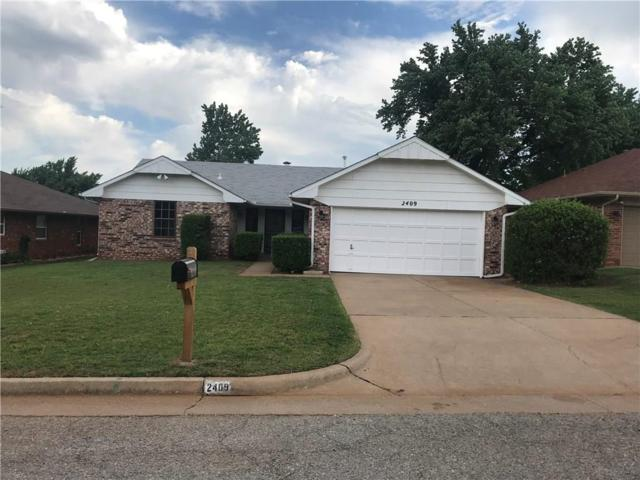 2409 Pinon, Edmond, OK 73013 (MLS #819353) :: Wyatt Poindexter Group