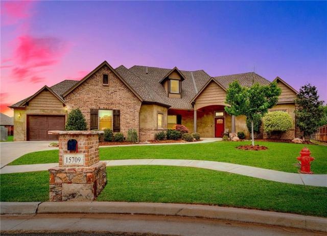 15709 Kestral Park Court, Edmond, OK 73013 (MLS #819425) :: Wyatt Poindexter Group