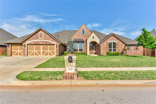 14501 Yorkshire Lane, Oklahoma City, OK 73142 (MLS #819650) :: Wyatt Poindexter Group