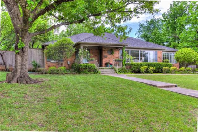 1712 Dorchester Drive, Nichols Hills, OK 73120 (MLS #819715) :: Wyatt Poindexter Group