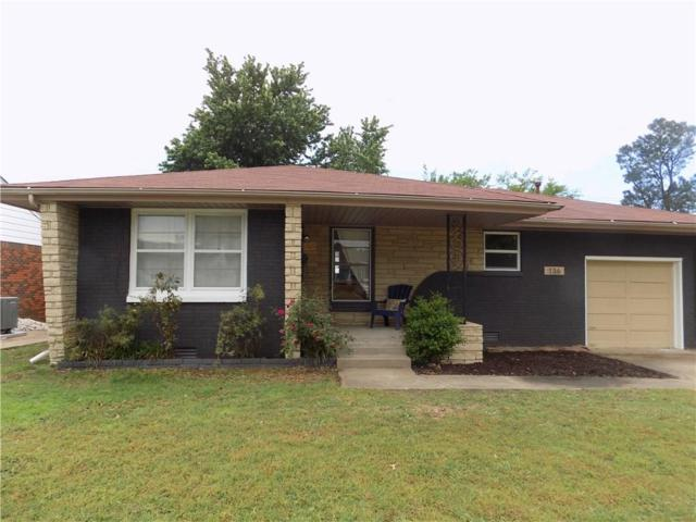 136 W Rose Drive, Midwest City, OK 73110 (MLS #820133) :: Erhardt Group at Keller Williams Mulinix OKC