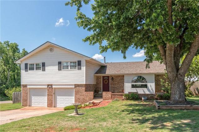 1705 E Ensey Terrace, Mustang, OK 73064 (MLS #820181) :: Wyatt Poindexter Group
