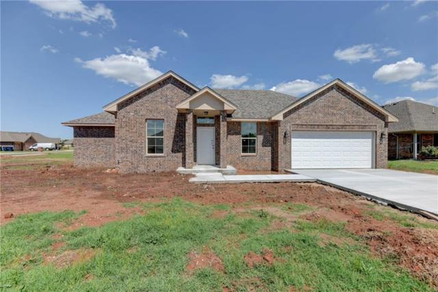 7524 Comrade Lane, Yukon, OK 73099 (MLS #820278) :: Wyatt Poindexter Group