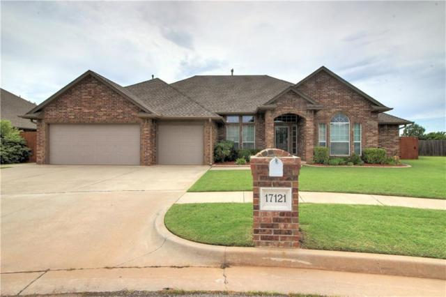 17121 Gladstone Lane, Edmond, OK 73012 (MLS #820346) :: Wyatt Poindexter Group