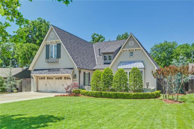 2013 Huntington Avenue, Nichols Hills, OK 73116 (MLS #820373) :: Meraki Real Estate