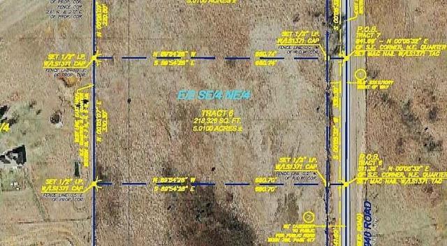 Tract 6 County Street 2940, Blanchard, OK 73010 (MLS #820518) :: Wyatt Poindexter Group