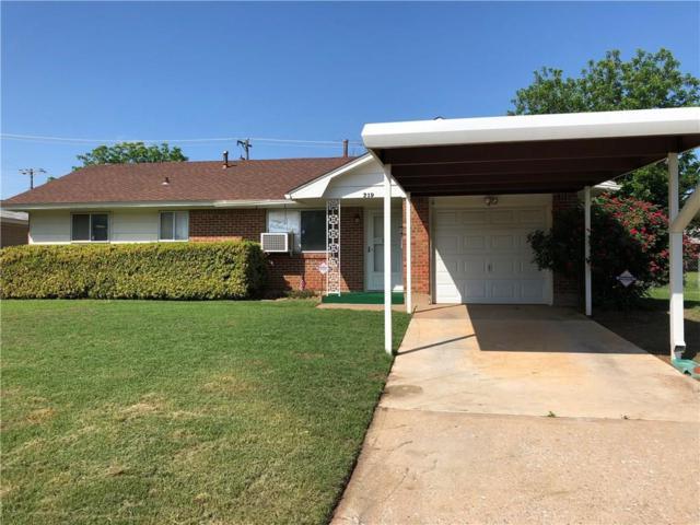 219 S S. Bristow Avenue, Moore, OK 73160 (MLS #820748) :: Meraki Real Estate