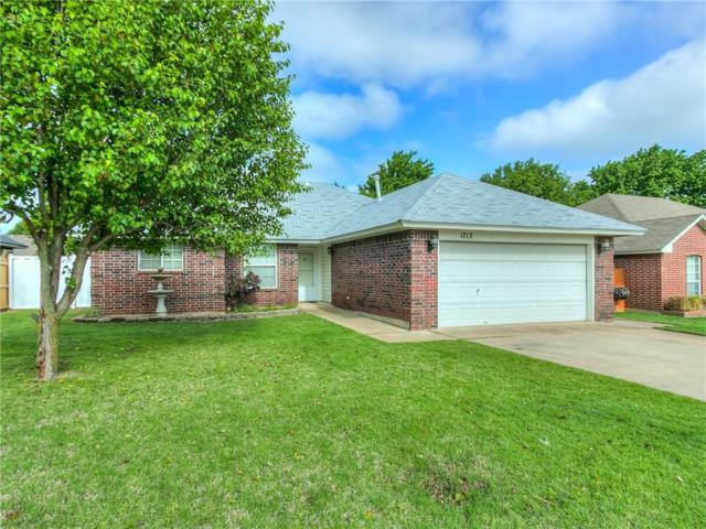 1713 Butterfield Trail, Choctaw, OK 73020 (MLS #820799) :: Meraki Real Estate