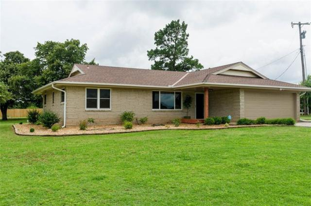 18280 NE 10th Street, Harrah, OK 73045 (MLS #821066) :: KING Real Estate Group