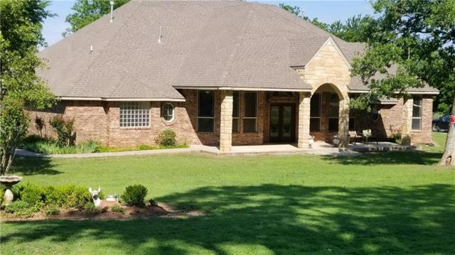 1401 Timber Ridge Drive, Choctaw, OK 73020 (MLS #821189) :: Wyatt Poindexter Group