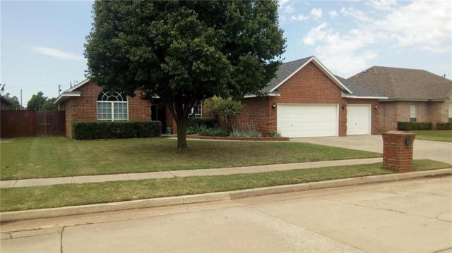 309 Sam Houston Way, Mustang, OK 73064 (MLS #821451) :: Erhardt Group at Keller Williams Mulinix OKC