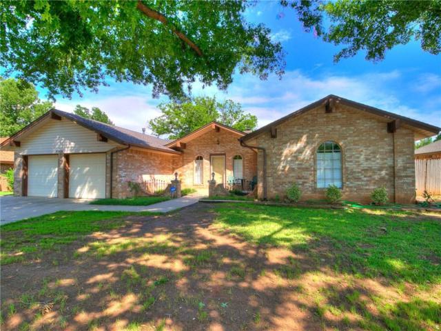 9806 Hummingbird Lane, Oklahoma City, OK 73162 (MLS #821465) :: Wyatt Poindexter Group