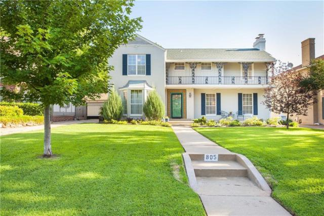 805 NW 38th Street, Oklahoma City, OK 73118 (MLS #821576) :: Wyatt Poindexter Group