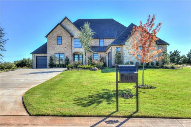 1416 Abberly Circle, Arcadia, OK 73007 (MLS #821742) :: Wyatt Poindexter Group